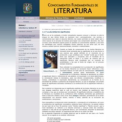 Colección Conocimientos Fundamentales