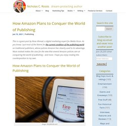 How Amazon Plans to Conquer the World of Publishing