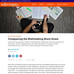 Conquering the Multitasking Brain Drain