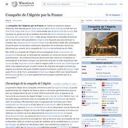 Conquête de l'Algérie par la France
