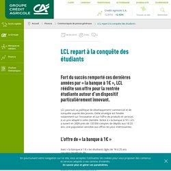 LCL repart à la conquête des étudiants