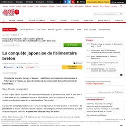 La conquête japonaise de l'alimentaire breton