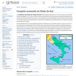 Conquête normande de l'Italie du Sud