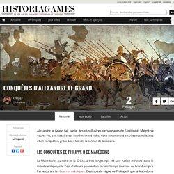 Conquêtes d'Alexandre le Grand sur HistoriaGames