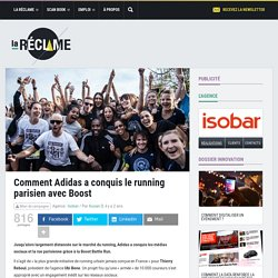 Boost Battle Run : comment Adidas a conquis le running parisien
