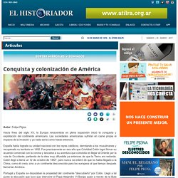"""TEXTO DE ARCHIVO """"Conquista y colonización de América"""""""