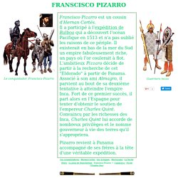 Les Conquistadores : Francisco Pizzaro