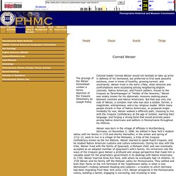 Conrad Weiser Page One