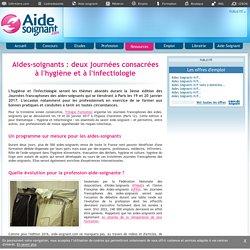 19 et 20 janvier 2017 - Journées francophones des aides-soignants