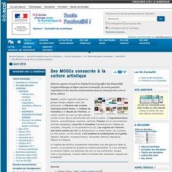 Des MOOCs consacrés à la culture artistique