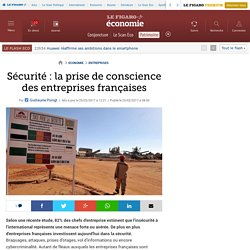 Sécurité : la prise de conscience des entreprises françaises