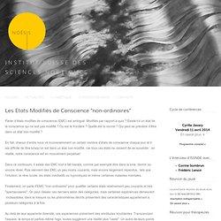 ARTICLE NDE & autres ECM (site Noêsis)