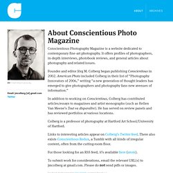 Conscientious Photography Magazine