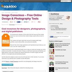 Image Conscious - Free Online Graphic and Web Design Tools