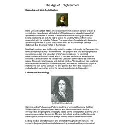The Roots of Consciousness: History, The Age of Enlightenment