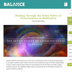 Healing Through the 7 States of Consciousness in Meditation
