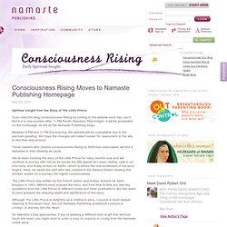 Consciousness Rising Moves to Namaste Publishing Homepage
