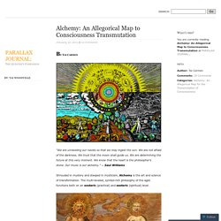 Alchemy: An Allegorical Map to Consciousness Transmutation