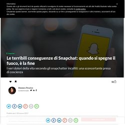 Le terribili conseguenze di Snapchat: la questione snapstreak