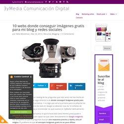 10 webs donde conseguir imágenes gratis para mi blog y redes sociales