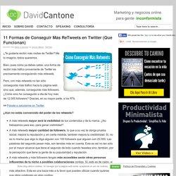 11 Formas de Conseguir Más ReTweets en Twitter (Que Funcionan)