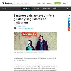 """8 maneras de conseguir """"me gusta"""" y seguidores en Instagram"""