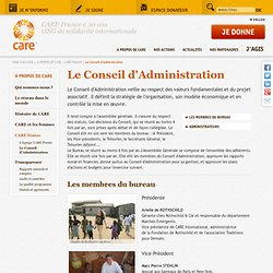 Conseil Administration CARE France oghje
