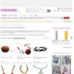 Idées Bijoux fimo : conseil de bricolage et exemple Bijoux fimo