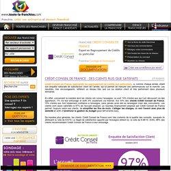 Crédit Conseil de France : des clients plus que satisfaits