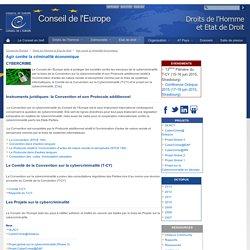 Conseil de l'Europe Cybercriminalité