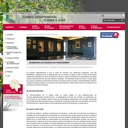 [CD d'Indre-et-Loire] - Mécénat pour la préservation des musées Départementaux