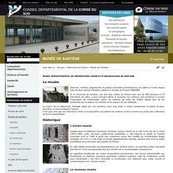 Conseil Départemental de la Corse du Sud: Musée de Sartène