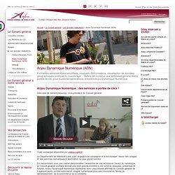 Anjou - Conseil général de Maine-et-Loire: Anjou Dynamique Numérique (ADN)
