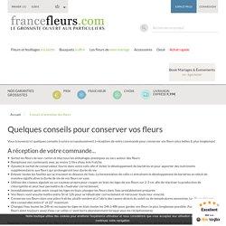 Conseil et entretien des fleurs - France fleurs