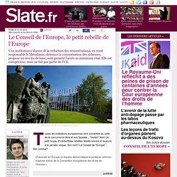 Le Conseil de l'Europe, le petit rebelle de l'Europe