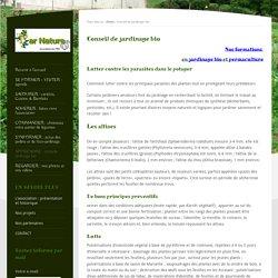 Conseil de jardinage bio - Jardins Par Nature