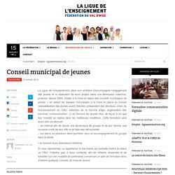 Conseil municipal de jeunes - Ligue de l'enseignement du Val d'oise