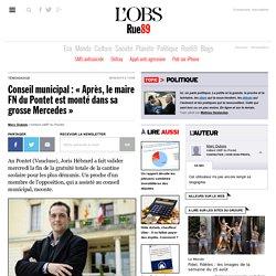 Conseil municipal: «Après, le maire FN du Pontet est monté dans sa grosse Mercedes»