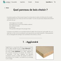 Conseil Panneaux bois