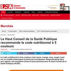 Le Haut Conseil de la Santé Publique... - Nutrition