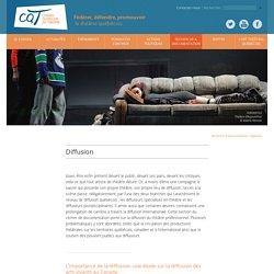 CQT - le Conseil québécois du théâtre » Diffusion