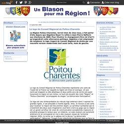 Le logo du Conseil Régional de Poitou-Charente - Un blason pour ma région !