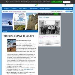Site du Conseil régional des Pays de la Loire: Tourisme