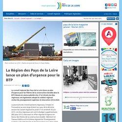 La Région des Pays de la Loire lance un plan d'urgence pour le BTP