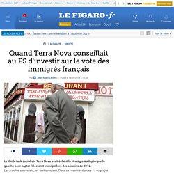 Quand Terra Nova conseillait au PS d'investir sur le vote des immigrés français