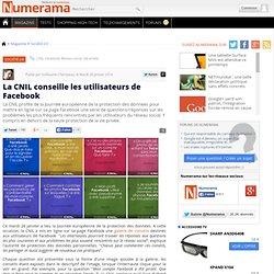 La CNIL conseille les utilisateurs de Facebook
