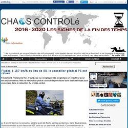 Flashé à 157 km/h au lieu de 90, le conseiller général PS est relaxé - Média Alternatif - Stratégie du chaos contrôlé