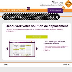 Le Diagnostic Mobilité d'Alter Move