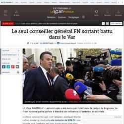 Le seul conseiller général FN sortant battu dans le Var