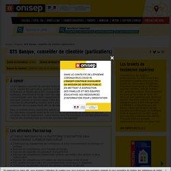 BTS Banque, conseiller de clientèle (particuliers)